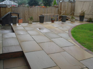 Yorkshire Stone and Indian Paving