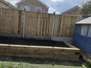 Fencing and Raised Garden
